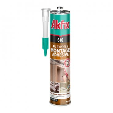 AKFIX PU 610 montage adhesive, transparent, 310 ml 22803