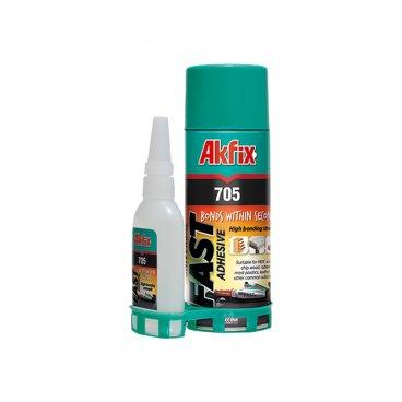 AKFIX 705 Универсальный быстрый клей, 400 ml 22808