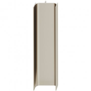 Recessed grip C-tipe, vertical 2460 mm 19995